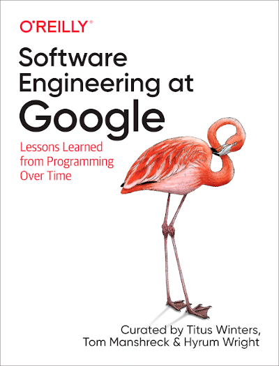 Software Engineering at Google Cover