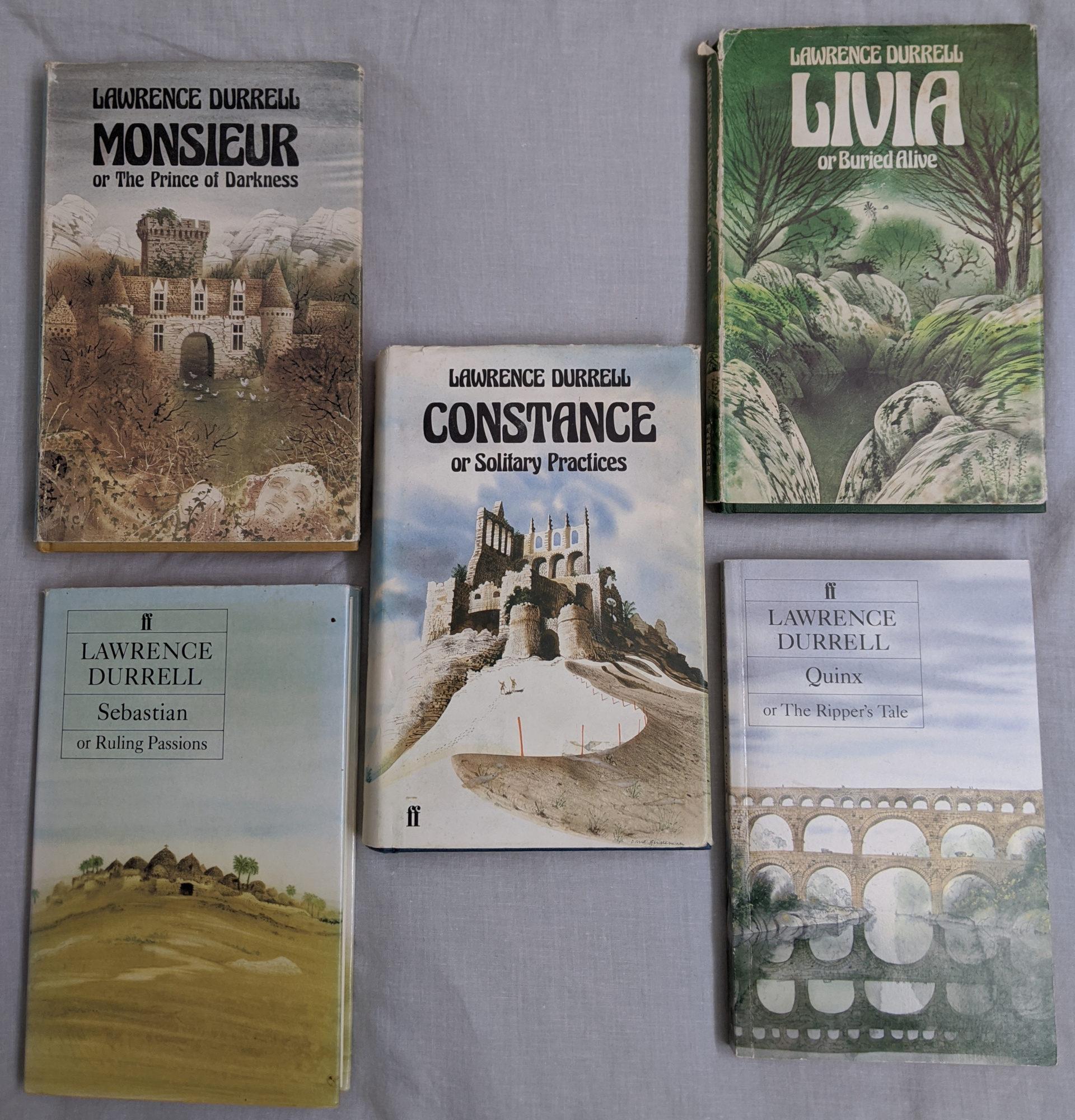Avignon Quintet Book Covers