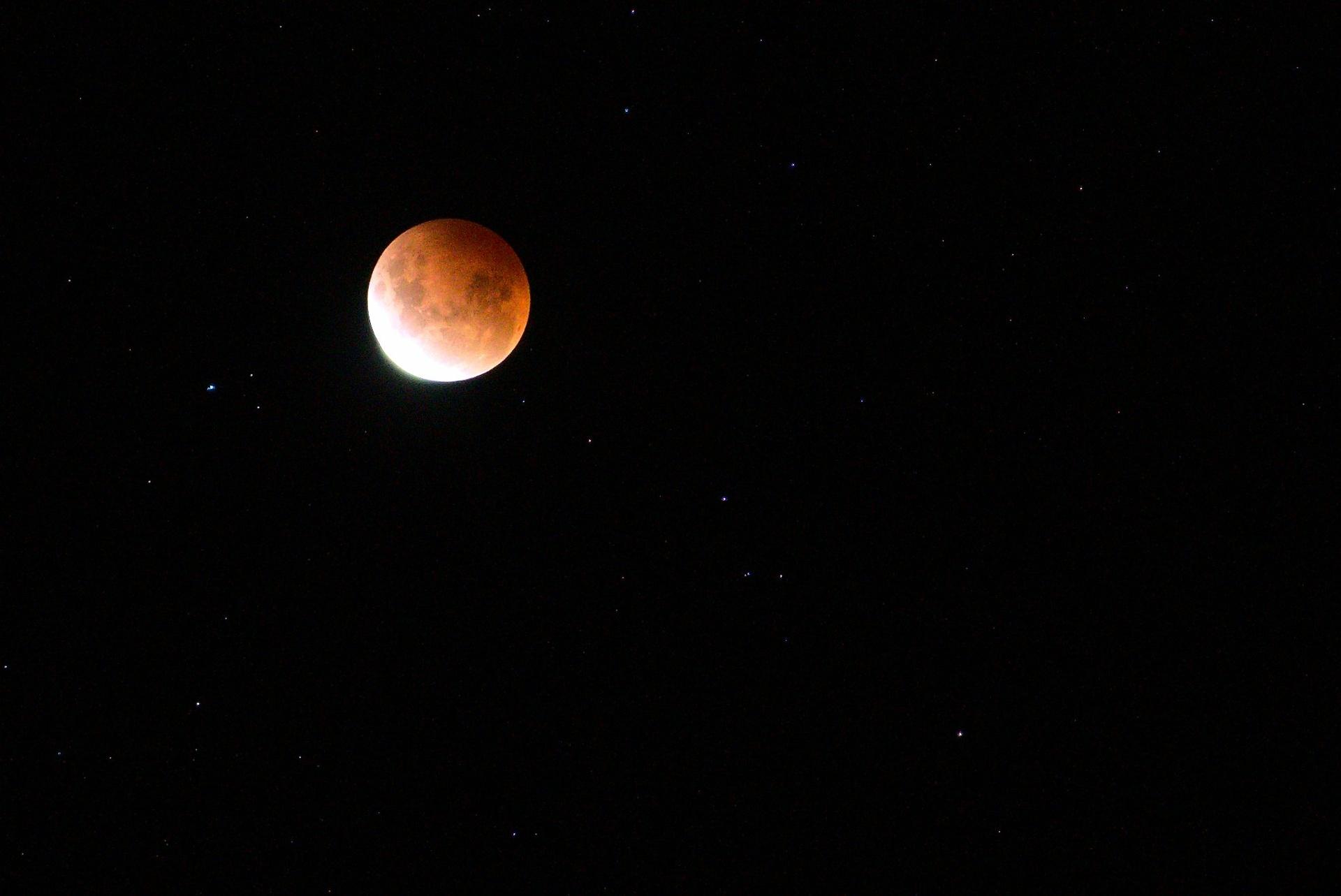 The moon, again again